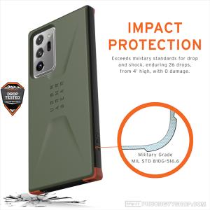 Ốp UAG Civilian Galaxy Note 20 Ultra (chính hãng)